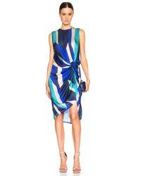 Zimmermann - Blue Esplanade Drape Dress - Lyst