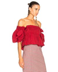 Brock Collection - Red Toni Top - Lyst