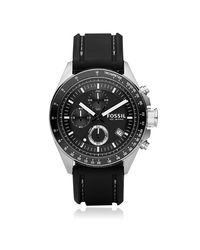 Fossil | Black Decker Stainless Steel Men's Chronograph Watch for Men | Lyst