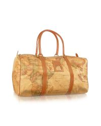 Alviero Martini 1A Classe | Metallic 1a Prima Classe - Small Travel Duffel Bag | Lyst