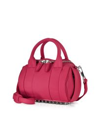 Alexander Wang - Pink Mini Rockie Pebbled Leather Satchel - Lyst