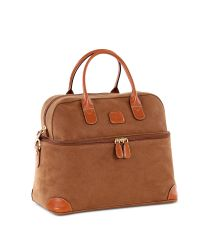 Bric's - Natural Life - Camel Micro Suede Beauty Case Bag - Lyst