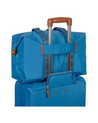 Bric's | Blue X-bag Medium Foldable Last-minute Holdall In A Pouch | Lyst