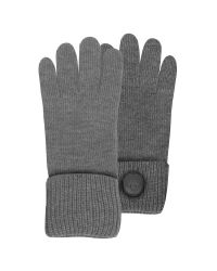DSquared² | Gray Cable Knit Wool Men's Gloves for Men | Lyst