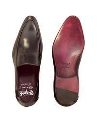 Fratelli Borgioli - Cricket Shiny Brown Loafer for Men - Lyst