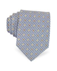 FORZIERI | Blue Bicolor Dots Woven Silk Tie for Men | Lyst
