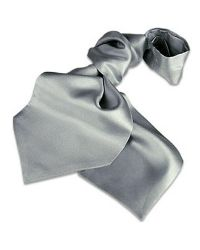 FORZIERI - Metallic Solid Silk Ascot for Men - Lyst