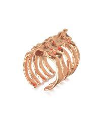 Bjorg | Pink After Eden Spine Ring | Lyst