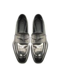 Jil Sander - Mirror Black Leather Loafer Shoe for Men - Lyst