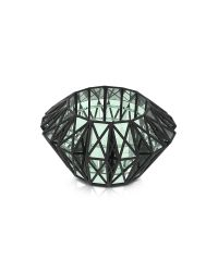 Vojd Studios   Black Translucent Glass Cage Cuff   Lyst