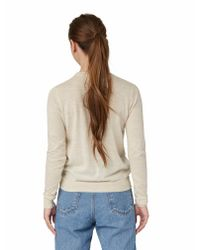 Frank + Oak | Natural The All-day Merino Crewneck In Light Beige | Lyst