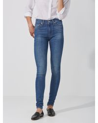 Frank And Oak - Levi's Mile High Super Skinny Jean In Light Blue - Lyst