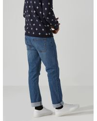 Frank And Oak - The Dylan Slim-stretch Jean In Light Blue for Men - Lyst