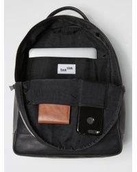 Frank And Oak - The Boulevard Leather Backpack In Black for Men - Lyst