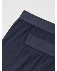 Frank And Oak - Blue 2-pack Soft Touch Trunks In Navy for Men - Lyst