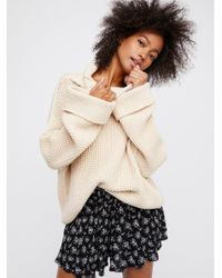 Free People - Natural Inner Circle Short - Lyst