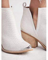 Free People - White Hunt The Plains Boot - Lyst
