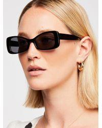 Free People - Black Okay Whatever Sunglasses - Lyst