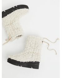 Free People - White Tundra Weather Boot - Lyst