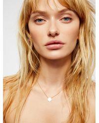 Free People - Metallic 14k Gold Fill Sunburst Necklace - Lyst