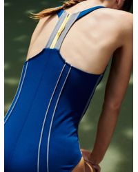 Free People - Blue Delta Bodysuit - Lyst