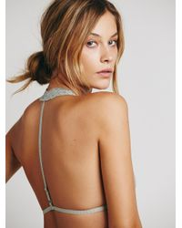 Free People   Green Truly Madly Deeply Halter   Lyst