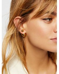 Free People - Multicolor Double Sided Orbit Studs - Lyst