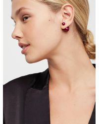 Free People - Natural Double Sided Orbit Studs - Lyst