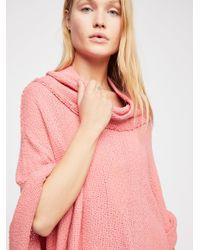 Free People - Pink So Comfy Tee - Lyst