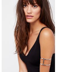 Free People - Multicolor Metal Upper Armband - Lyst