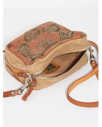Free People - Natural Livorno Painted Crossbody By Campomaggi - Lyst
