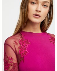 Free People - Pink Daniella Top - Lyst