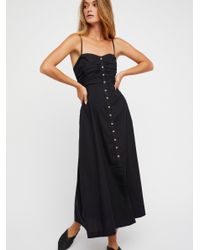Free People - Black The Isha Tube Dress - Lyst