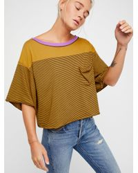 Free People - Multicolor We The Free Girl Crush Tee - Lyst