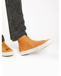 Free People - Multicolor Marble Sole High Top Sneaker - Lyst