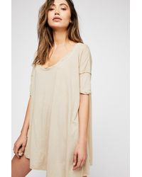 26317417d58 Free People Rachie Tunic By Fp Beach in Natural - Lyst