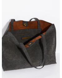 Free People - Black Lucille Slouchy Tote - Lyst
