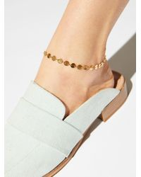 Free People - Metallic Maxxi Anklet - Lyst