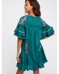Free People - Multicolor Pavlo Mini Dress - Lyst
