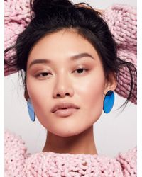 Free People - Multicolor Lucite Mega Earrings - Lyst