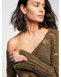 Free People - Multicolor Belong To You Sweater - Lyst