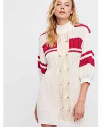 Free People - Multicolor Clothes Dresses Center Twist Sweater Dress - Lyst