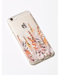 Free People - Multicolor Technicolor Iphone Case - Lyst