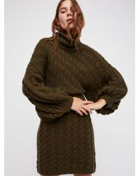 Free People - Multicolor Meant To Be Jumper Dress - Lyst