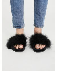 Free People - Black Stay In Bed Sandal - Lyst