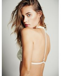 Free People - White Truly Madly Deeply Halter - Lyst