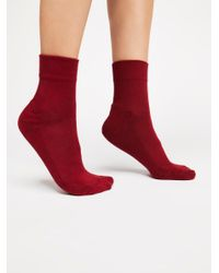 Free People - Red Always Anklet - Lyst