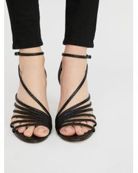Free People - Black Disco Fever Heel - Lyst