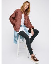 Free People - Multicolor Dolman Quilted Jacket - Lyst