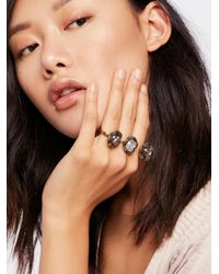 Free People - Multicolor Party Knuckles Cocktail Ring - Lyst